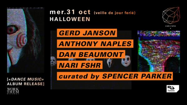Concrete Halloween curated by Spencer Parker