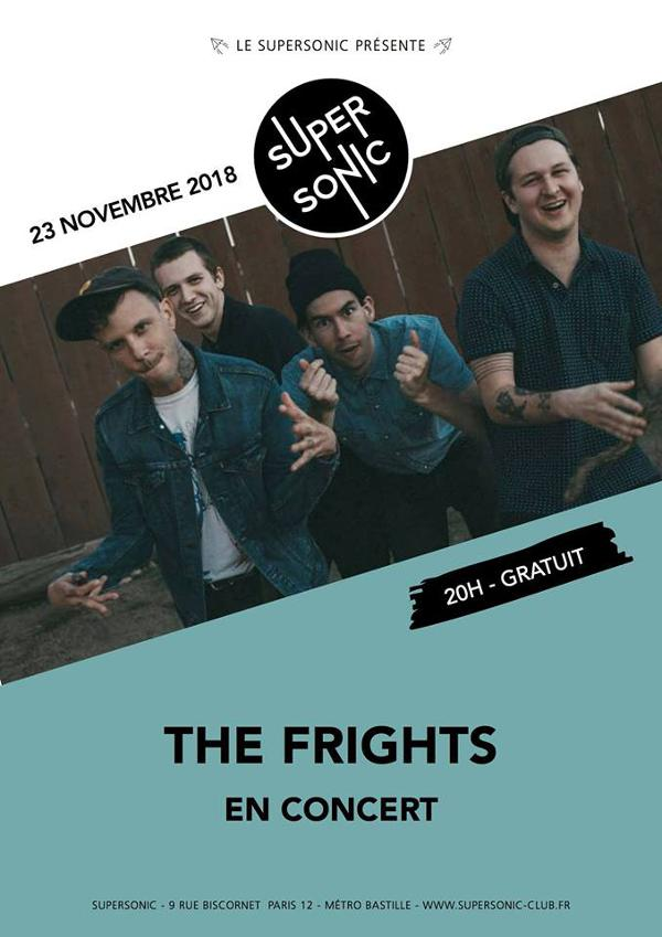 The Frights (Epitaph Records, USA) en concert au Supersonic