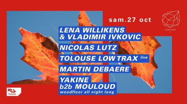 Concrete: Lena Willikens & Vladimir Ivkovic, Nicolas Lutz