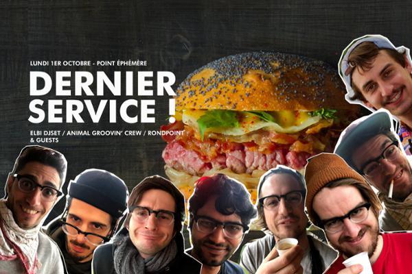 DERNIER SERVICE !