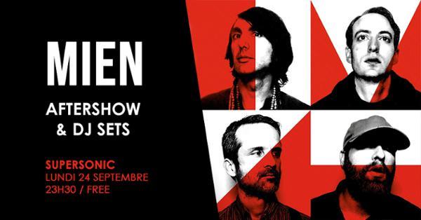 MIEN / Aftershow & DJ sets / Entrée gratuite