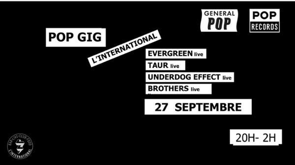 POP GIG