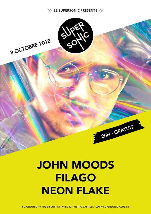 John Moods (Fenster) • Filago • Neon Flake / Supersonic - Free
