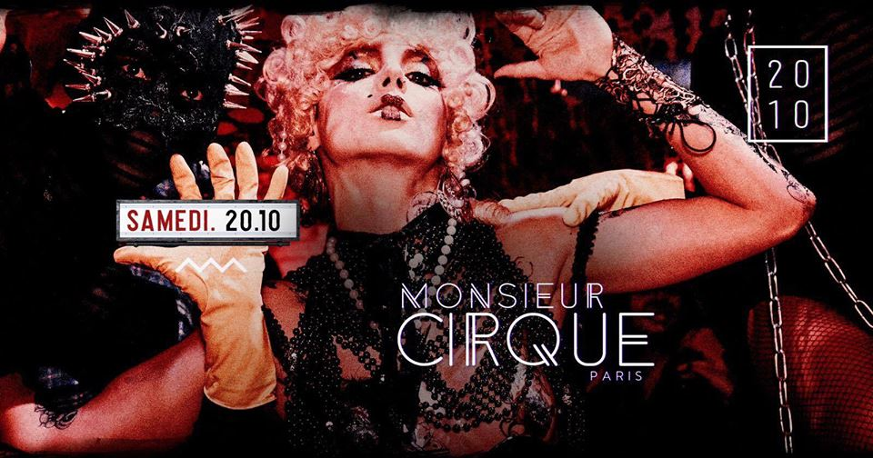 Samedi 20 Octobre - Monsieur Cirque