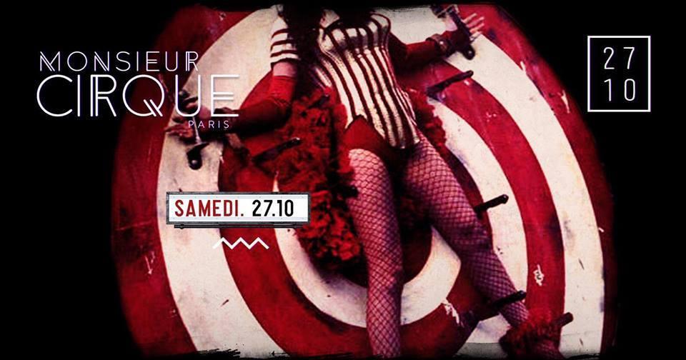 * Samedi 27 Octobre - Monsieur Cirque *
