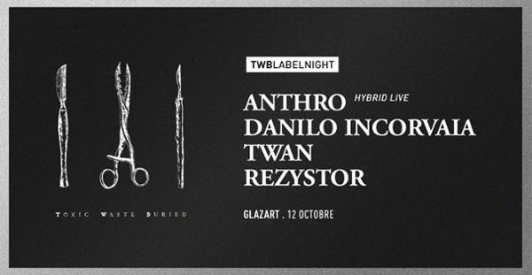 T/W/B Label Night