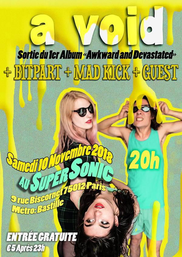 A VOID Release Party / Bitpart / Mad Kick / Special Guest