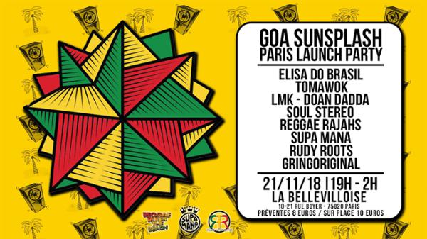 GOA SUNSPLAH - LAUNCH PARTY