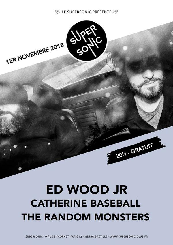Ed Wood Jr • Catherine Baseball • The Random Monsters / Free
