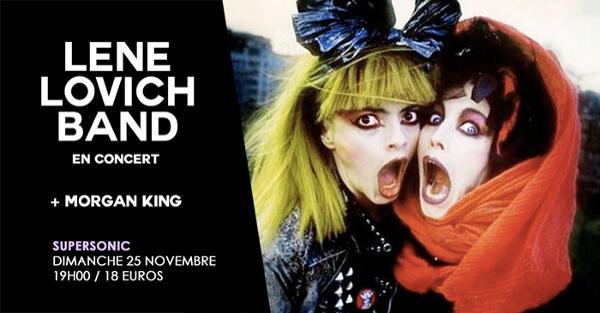 Lene Lovich Band (80s Wave,UK) • Morgan King / Supersonic
