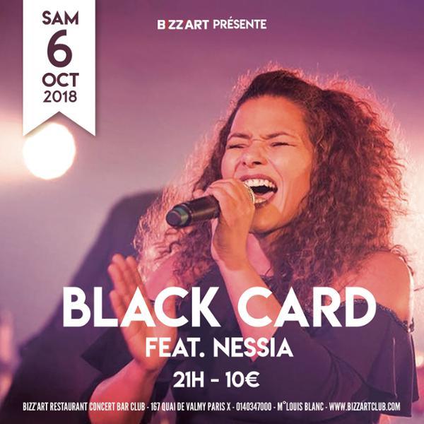 BLACK CARD FEAT NESSIA