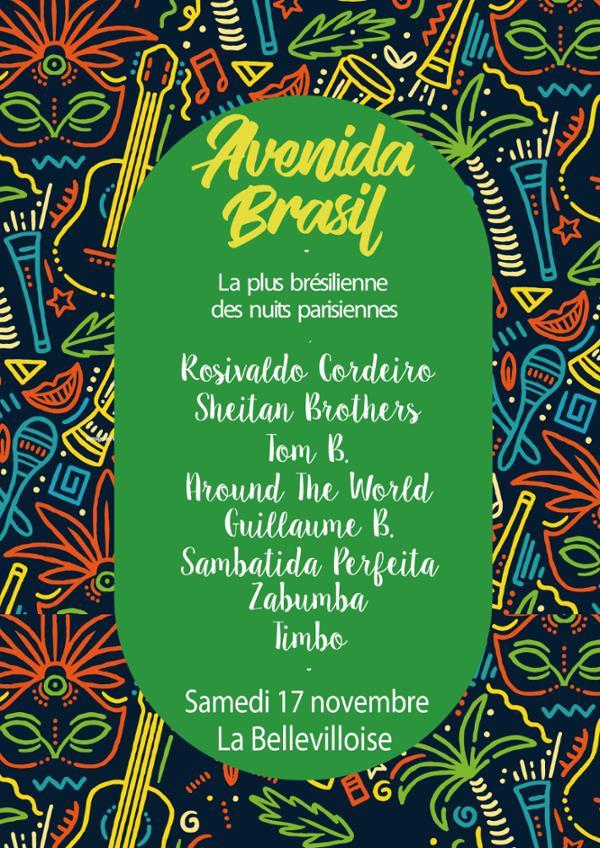 AVENIDA BRASIL : SUR UN AIR DE GUITARRADA AMAZONIENNE