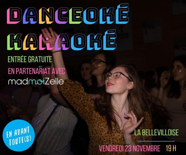 EN AVANT TOUTE(S) x MADMOIZELLE.COM : DANCEOKE + KARAOKE