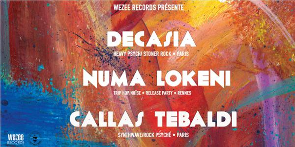 Decasia • Numa Lokeni {Release Party} • Callas Tebaldi