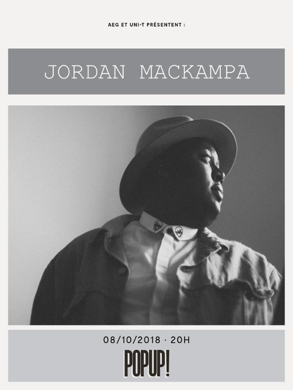 Jordan Mackampa + Lewis Evans @ Popup - Paris