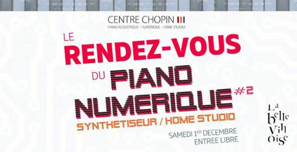 LE RENDEZ-VOUS DU PIANO NUMERIQUE - 2e EDITION