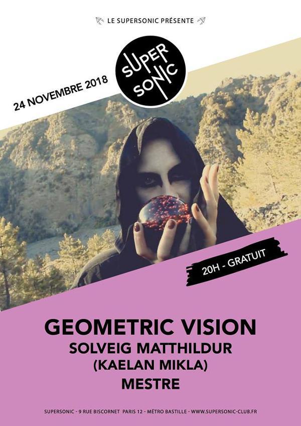Geometric Vision • Sólveig Matthildur (Kaelan Mikla) • Mestre