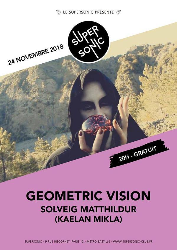 Geometric Vision • Sólveig Matthildur (Kaelan Mikla) /Supersonic