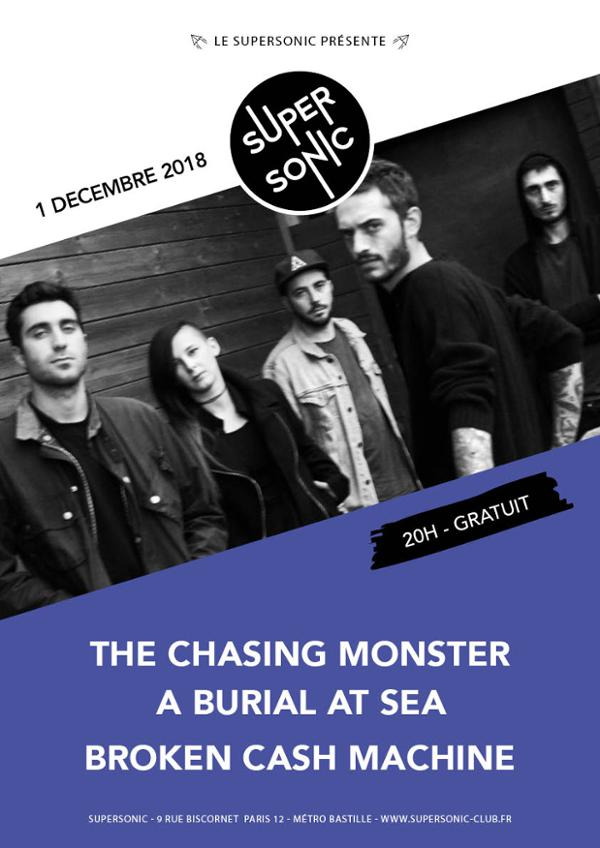 The Chasing Monster • A Burial at Sea • Broken Cash Machine