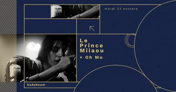 Le Prince Miiaou & Oh Mu en concert