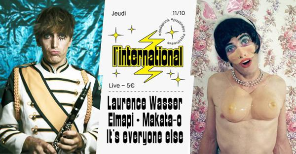Laurence Wasser / Elmapi / Makata-o / It's everyone else