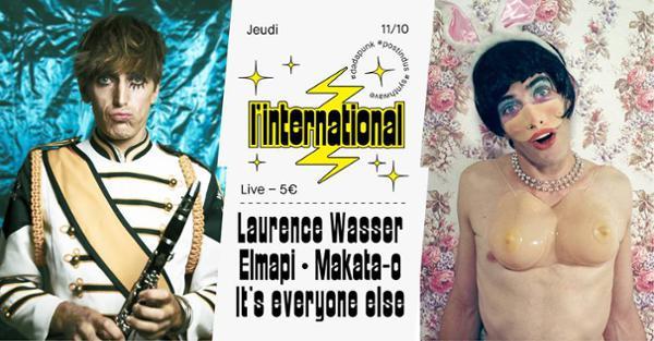 Laurence Wasser / Elmapi / Makata-o / It's everyone else