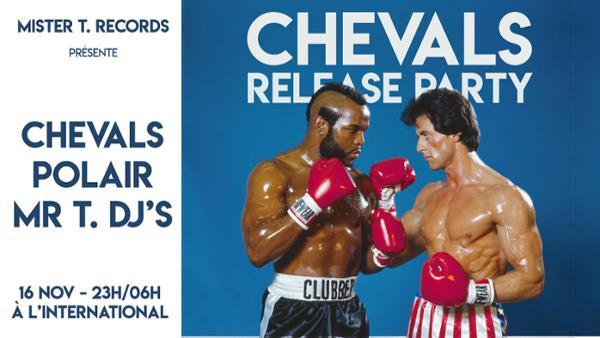 MTT 001 - Chevals Release Party