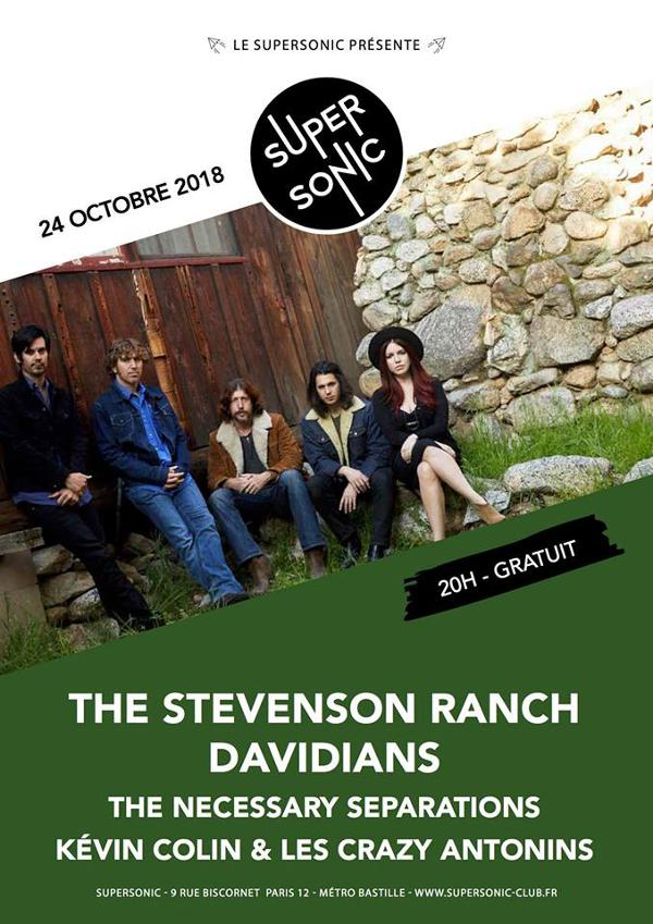 Stevenson Ranch Davidians • The Necessary Separations Kévin • Colin et les Crazy Antonins