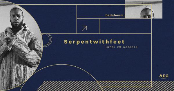 Serpentwithfeet en concert