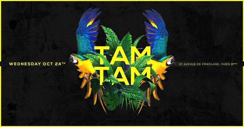 Mercredi 24 Octobre - TAM TAM - Boum Boum