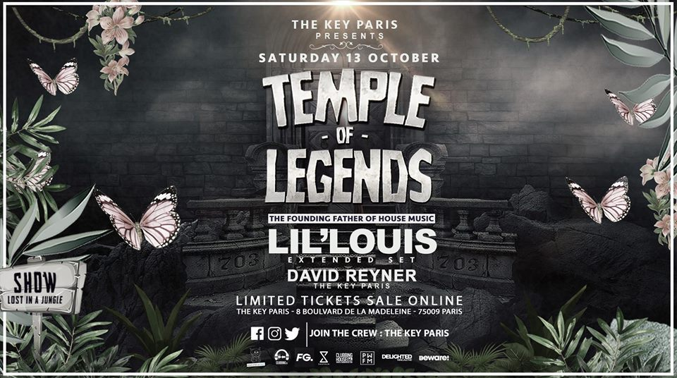 Temple of Legends : Lil Louis (3 hours extended set)