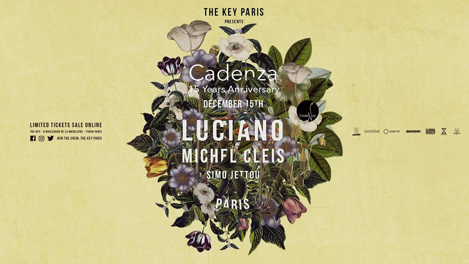 Cadenza 15 Years Anniversary : Luciano & Friends