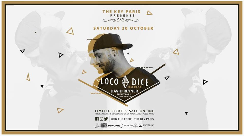 The Key Paris presents Loco Dice