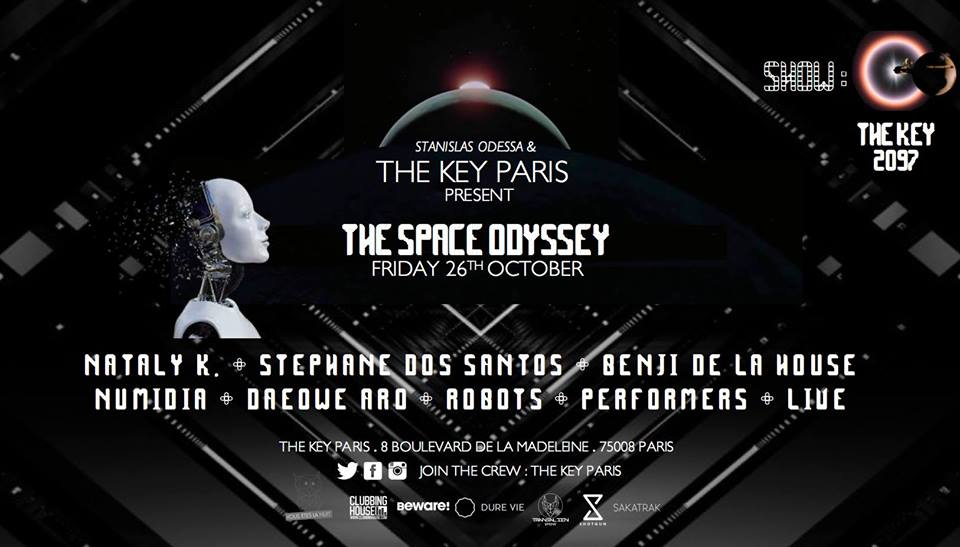 The Key Paris presents : The Space Odyssey