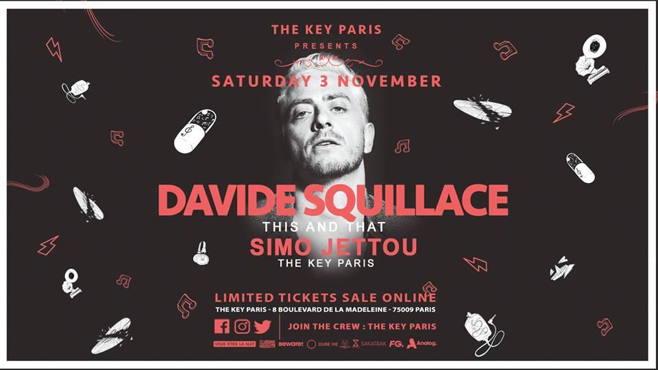The Key Paris presents : Davide Squillace