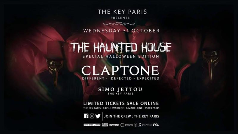 The Haunted House with Claptone
