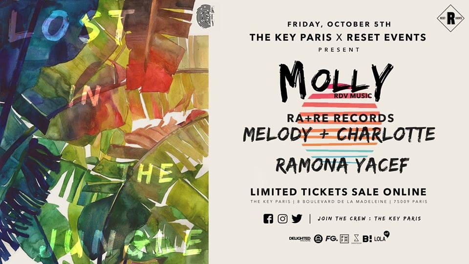 The Key x RESET : Molly, Ramona Yacef, RA+RE