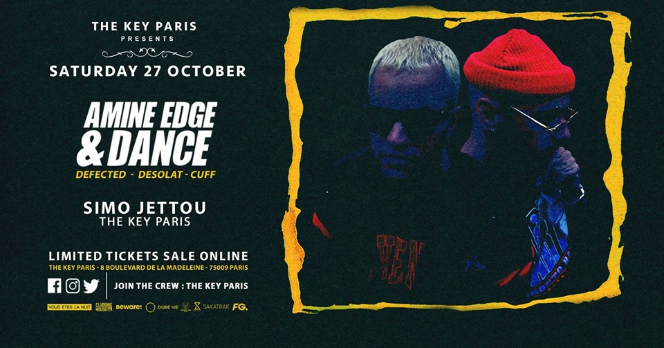 The Key Paris presents : Amine Edge & Dance