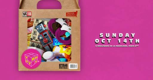 Toybox l Dimanche 14 Octobre l