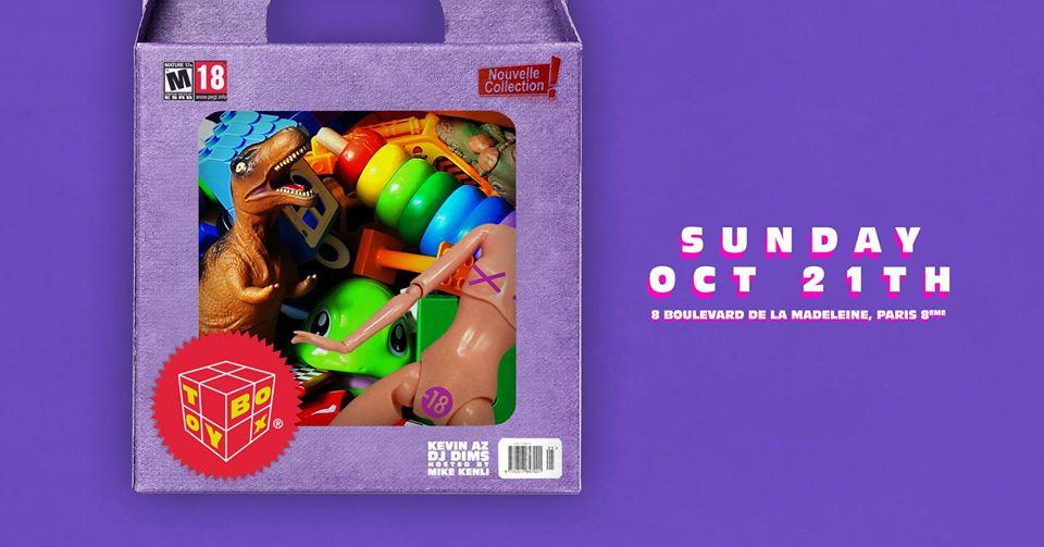 Toybox l Dimanche 21 Octobre l