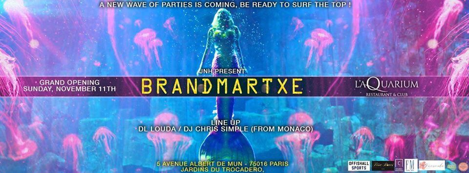 11.11 I Grand Opening - Brandmartxé I Aquarium Club