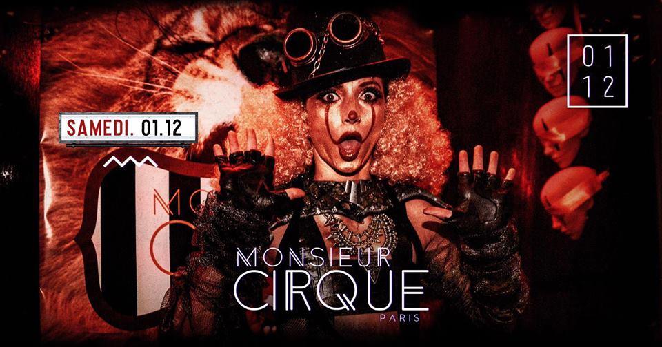 ★ Samedi 1er Décembre - Monsieur Cirque ★