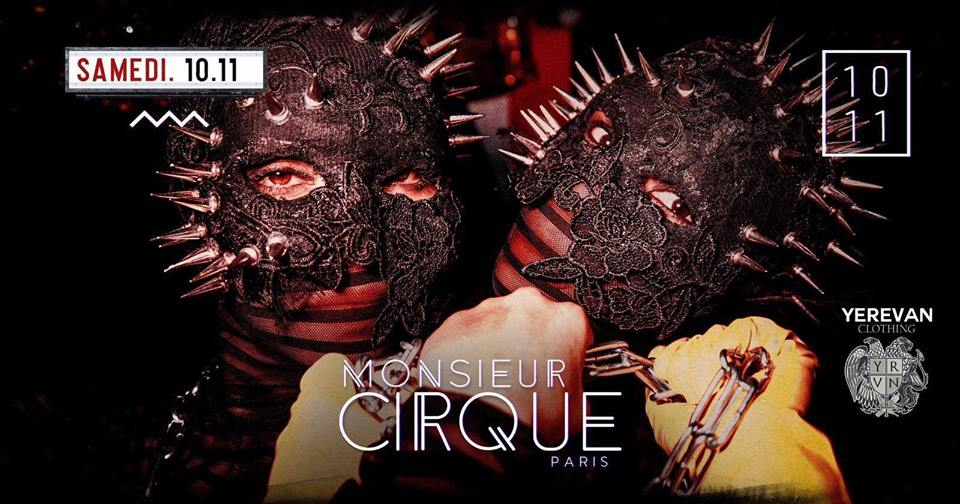 ★ Samedi 10 Novembre - Monsieur Cirque ★