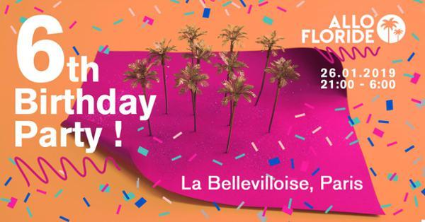 ALLO FLORIDE 6TH BIRTHDAY PARTY