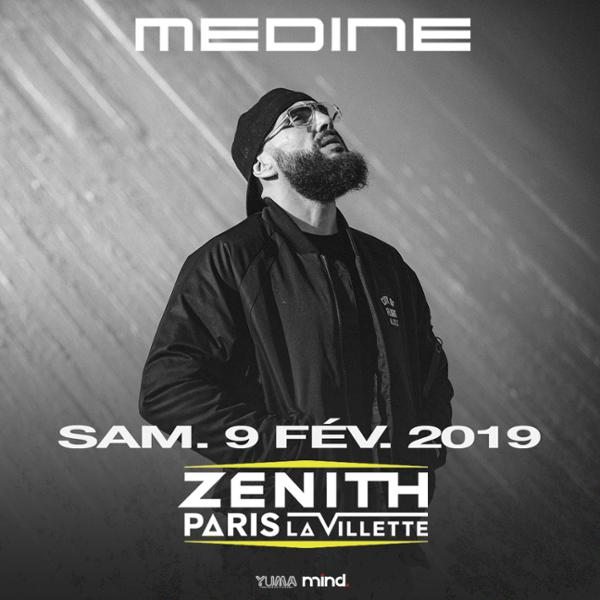 Médine • Le Zénith - La Villette, Paris • 9 Février 2019