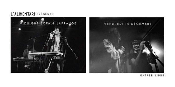 Concert Midnight Sofa x LaFrange @Alimentari