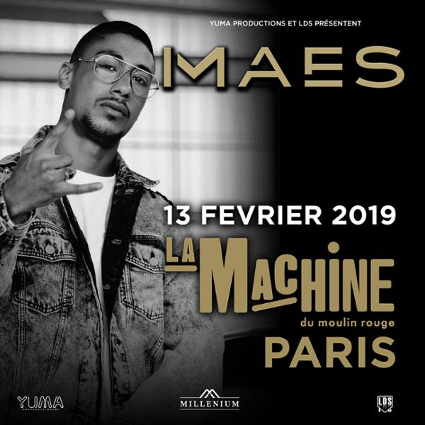 MAES • La Machine du Moulin Rouge, Paris • 13 février 2019
