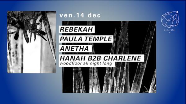 Concrete: Rebekah, Paula Temple, Anetha