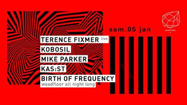 Concrete: Terrence Fixmer (Live), Kobosil, Mike Parker, KAS:ST