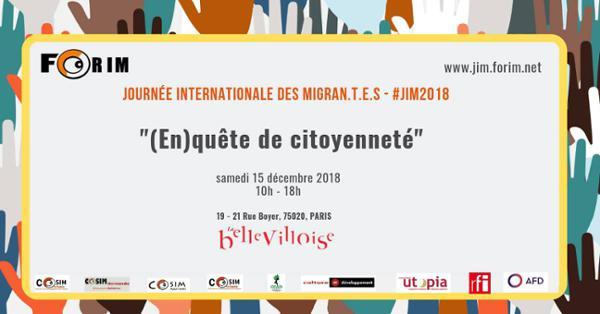 JOURNÉE INTERNATIONALE DES MIGRANT.E.S